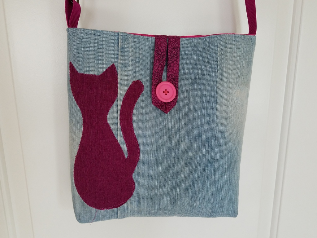 Finished Pussy Bag front